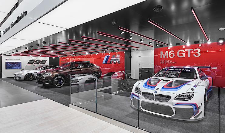 BMW Messestand Detroit Motor Show 2017