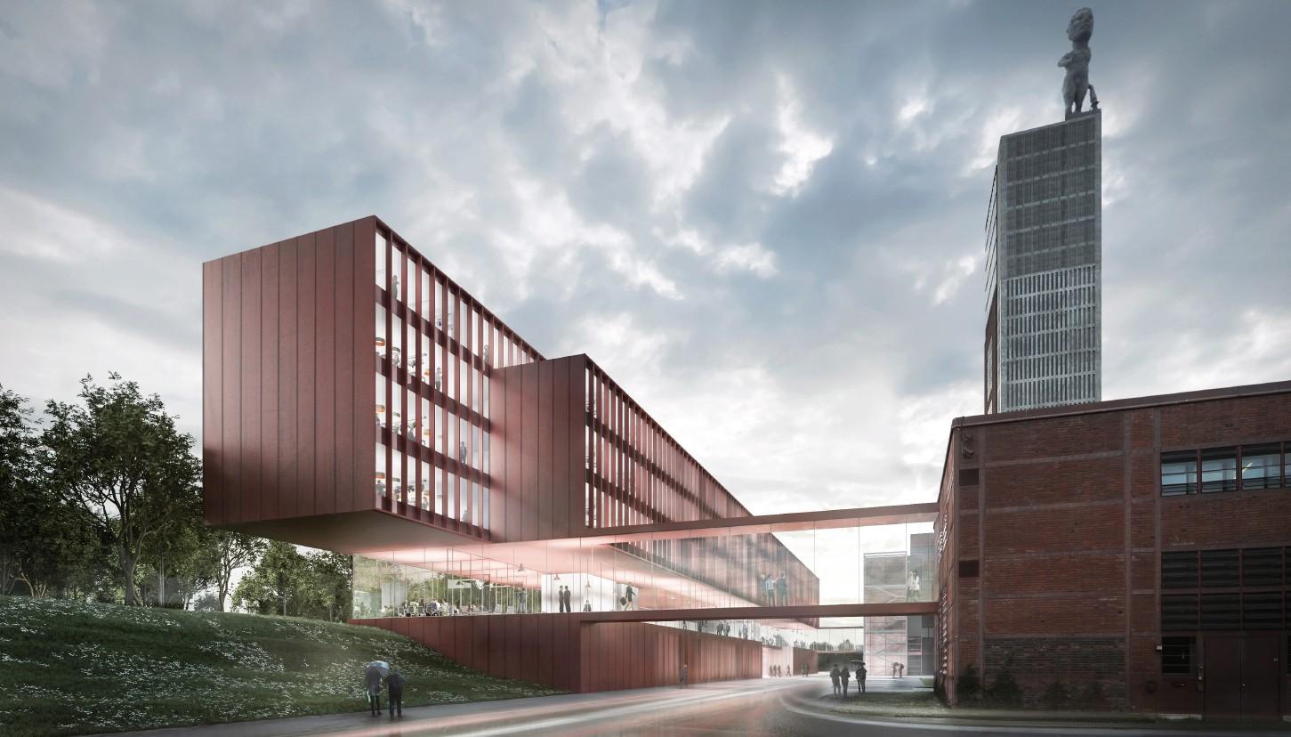 Vivawest Hauptverwaltung Tragwerksplanung imagine structure