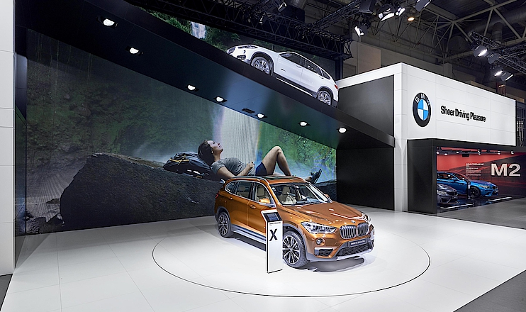 BMW Messestand Peking 2016
