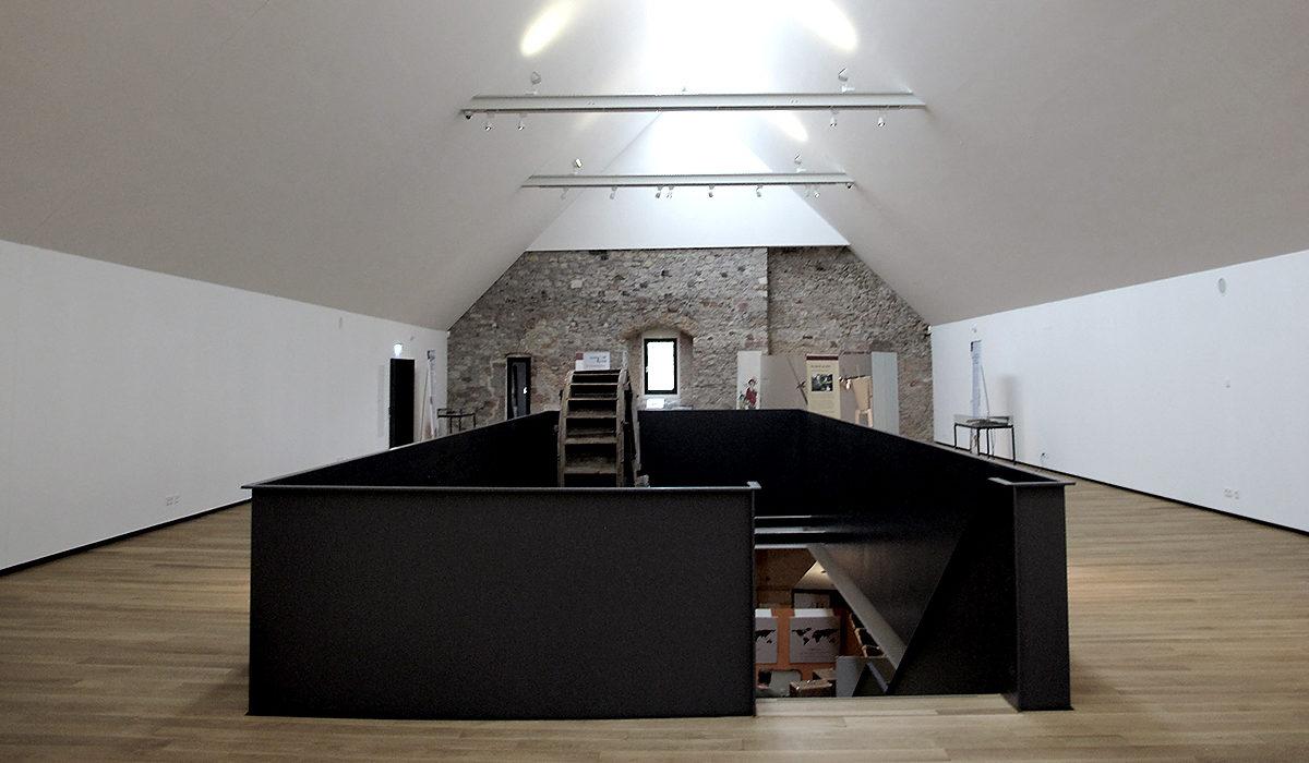 Festung Rüsselsheim Museum Umbau
