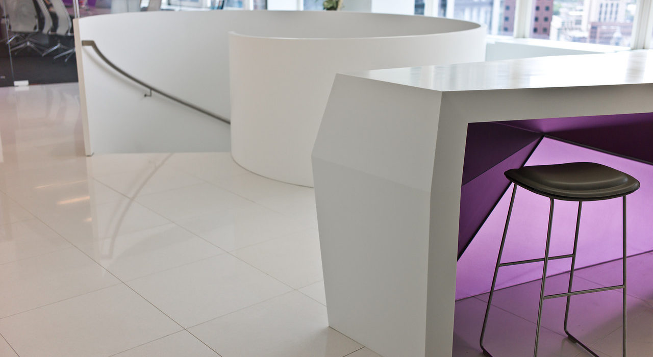 Bloomberg Treppe Detail
