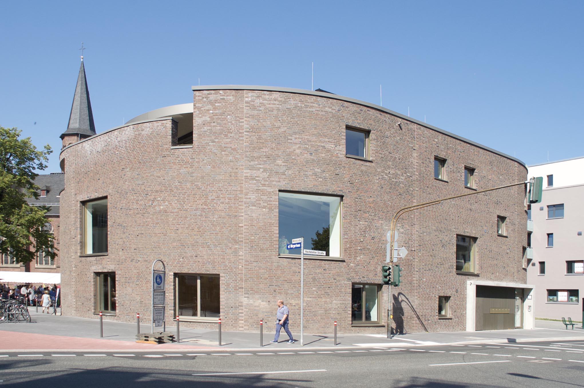 Neubau Pfarrzentrum St Jacobus Hilden