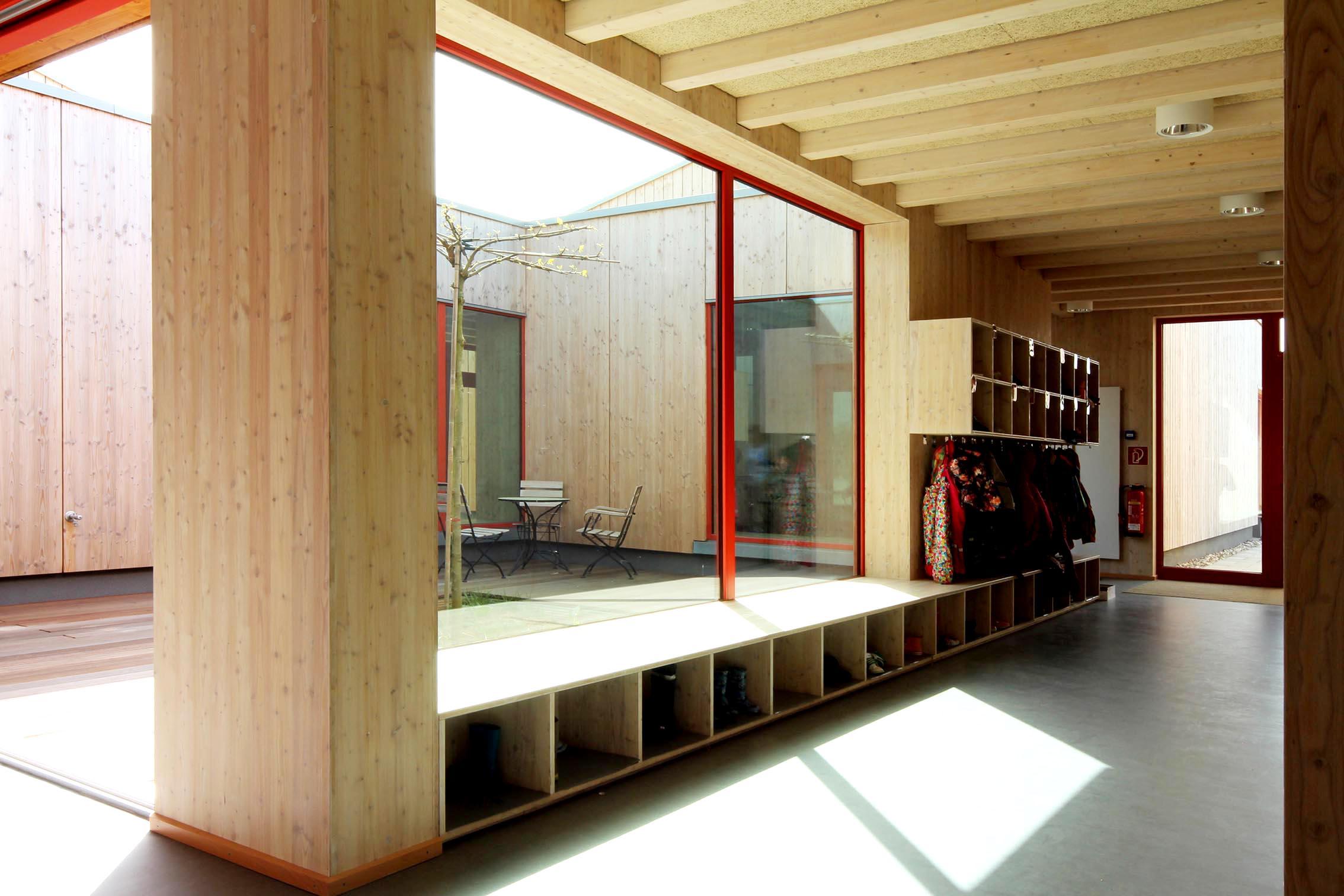 Kinderhaus Heiliegenhaus Tragwerksplanung imagine structure Kindergarten