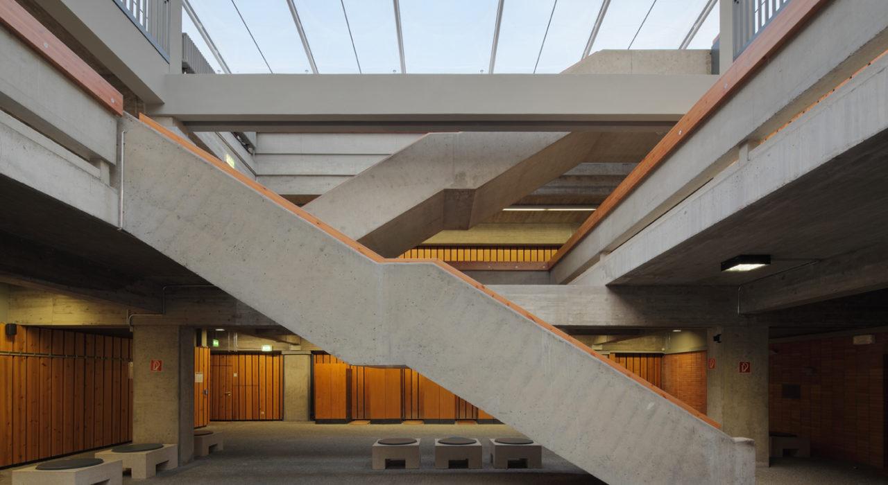 imagine structure Tragwerksplanung Ketteler Kolleg Mainz Sanierung Treppe