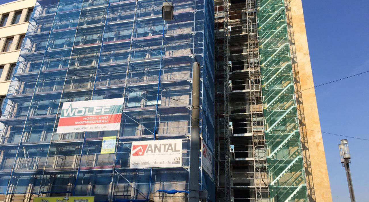 Umbau und Sanierung Bürogebäude Friedrich-Ebert-Anlage 3