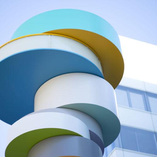 Fraport Turm Skulptur Tobias rehberger
