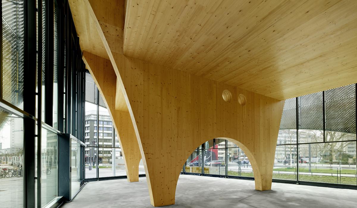 Kö Pavillon Düsseldorf Tragwerksplanung
