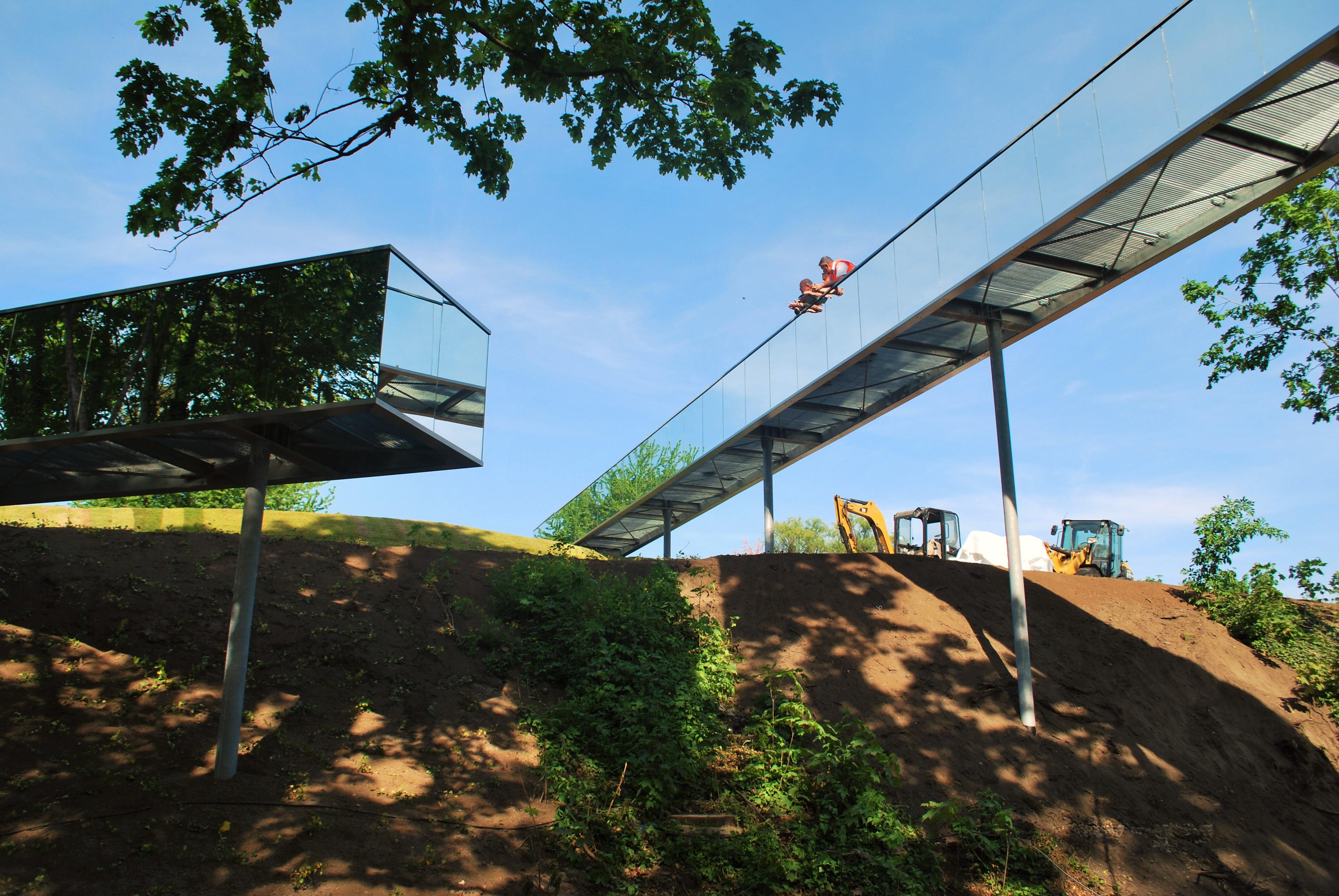 Spiegelstege Wittenberg Weltausstellung imagine structure Tragwerksplanung