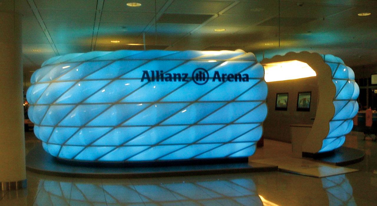 Allianzarena Miniatur Sonderkonstruktion imagine structure