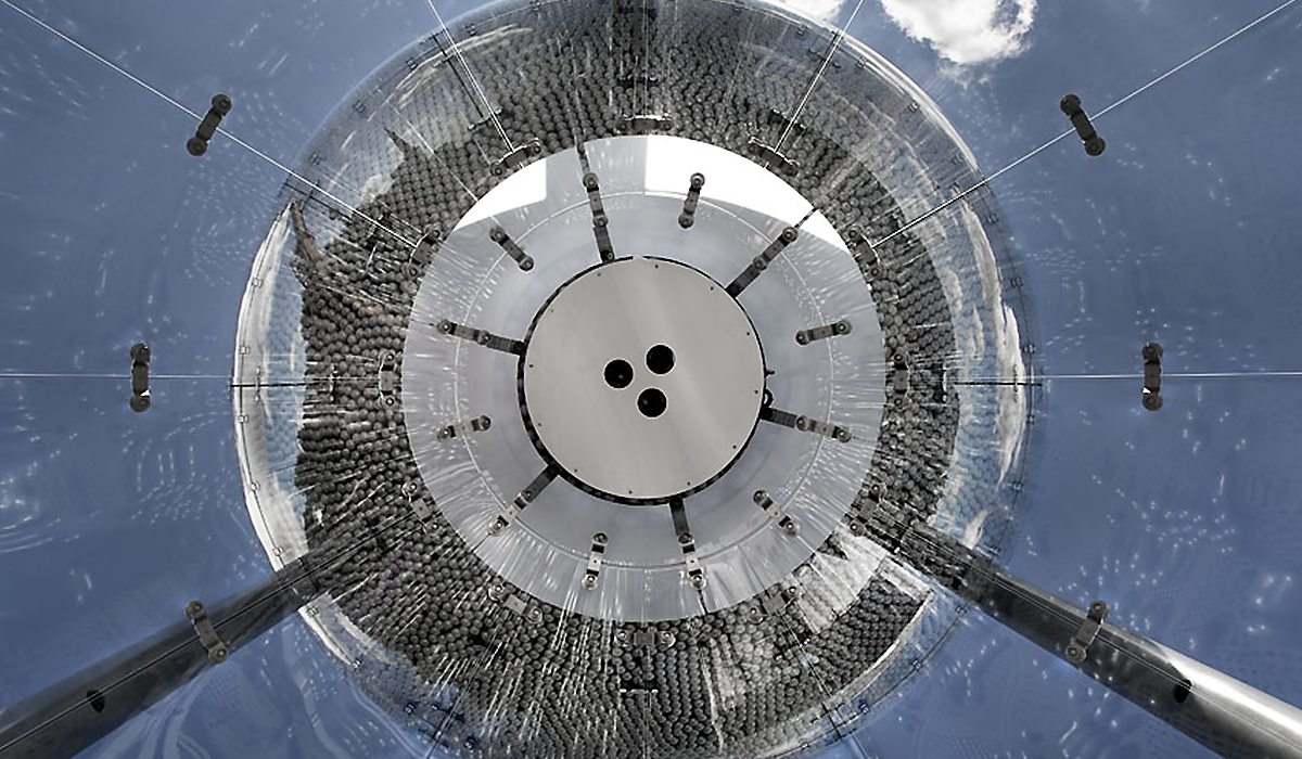 BMW Sanduhr Plexiglas sonderkonstruktion Detail