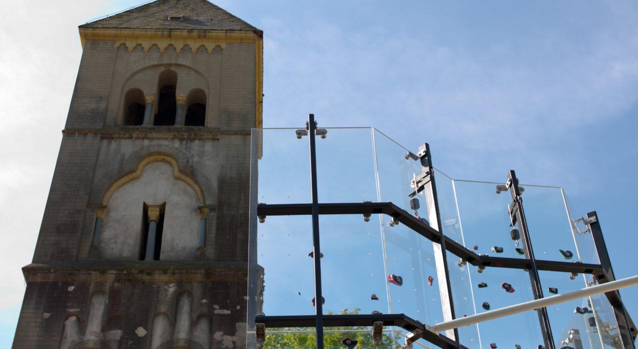 Acrylglas Kletterwand Schönstatt