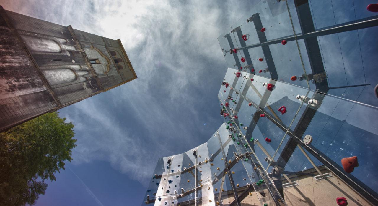 Acrylglas Kletterwand Schönstatt imagine structure Tragwerksplanung