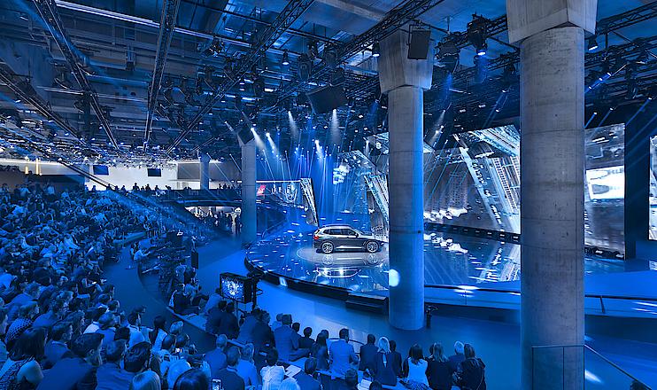 BMW Messestand Eröffnung IAA 2017