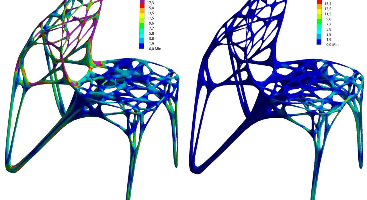 Generico Chair 3D Druck Spannung